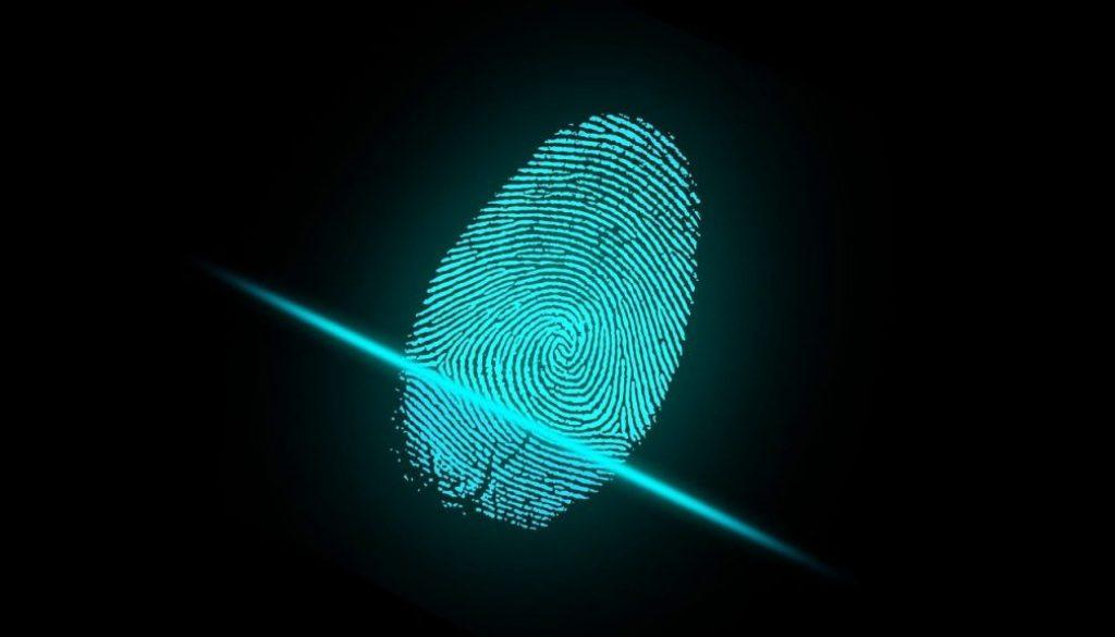 Digital fingerprint reader