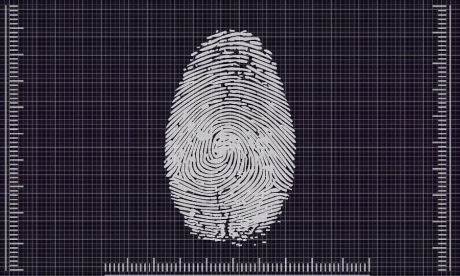 Lector biométrico de huella
