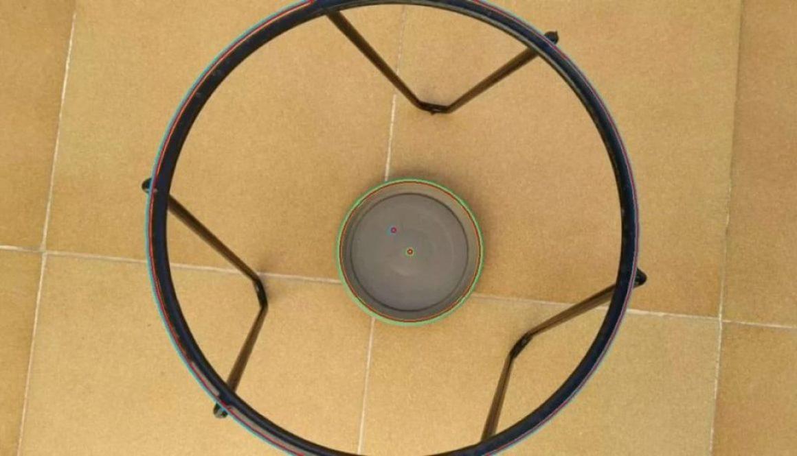 Computer Vision Based Circle Detection