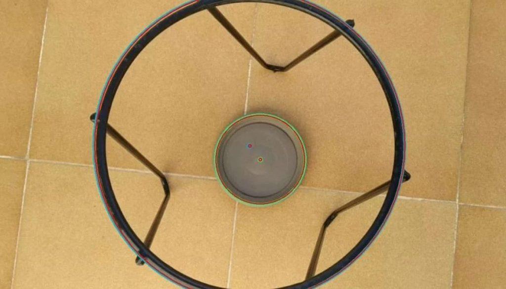 Detecció de cercles basat en visió per computador